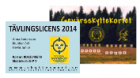 Skyttekort/Tävlingslicens